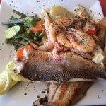 Mixed grill de poissons