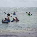 Floats and Kayak!  Great day!