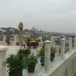 View from roof top terrace