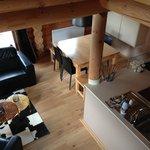 Séjour - salle à manger - espace cuisine