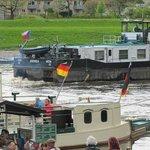 Busy Elbe