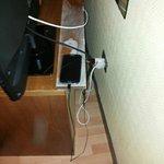 unica presa elettrica in camera