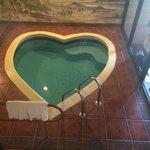 Private heated pool. So much fun.