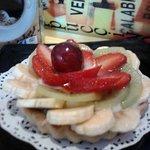 Tartaleta con fruta fresca