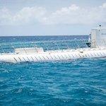 Encontro com o submarino antes do embarque