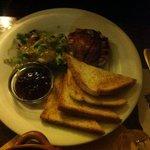 Camembert & bacon