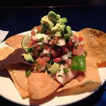 Ceviche Salad w/fresh avocado & chips