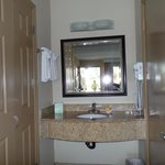 vanity to bathroom