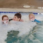 kids loved the hot tub