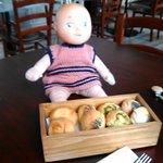 Anche la bambolina è golosa del Pane del Market Place