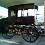 Carriage in front of hotel