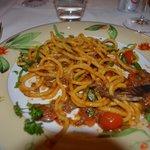 Bigoli in salsa di chianina