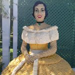 Life Size Sculpture Made Of Lego