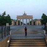 Brandenburg Gate 5.30a.m.