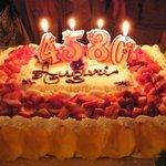 la torta 4580 dei nostri compleanni!!!