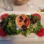 Salat mit Ziehenkäse