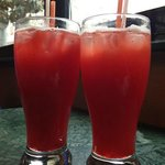 Strawberry and remedy drinks