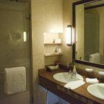 large double sink vanity