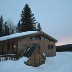 Chalet l'orignal , disponible en location pour la saison d'hiver