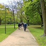 Biking in Tiergarten