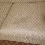 Stain on sofa that we couldn't sit on