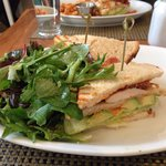 BLT with Chicken and fresh greens