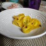 Tortelloni in a butter-sage sauce