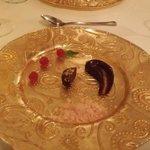 The Last course on tasting menu
