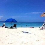 Doctors Cave Beach on the Caribbean Sea