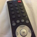 old condition of remote control in deluxe room