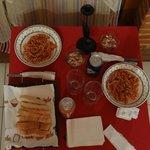 Posibilidad de una riquísima cena en la habitación