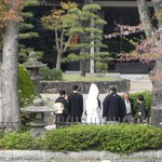 traditional japanese marriage ritual conducted inside