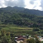 view from our Banaue homestay place