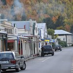 The Pretty Main Street of Arrowtown