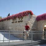 "Me David, at the entrance to the ""City of David""  :-)"