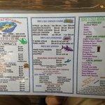 Front menu