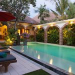 pool at deluxe 3 bedrooms villa