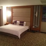 King Size bed from upgraded room