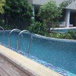 Pool access. Sooo good