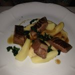 Rosé Duck Breast with Quince Textures
