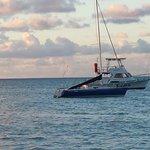 Sandals boat