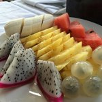 Breakfast- fruits