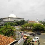 Istiqlal Mosque from the hotel