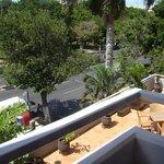 Vista da outra varanda do apartamento, Paseo de Montejo