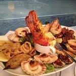 Hot Seafood Platter - divine