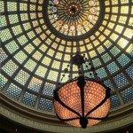 Cultural Center Tiffany Ceiling