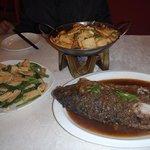 Singature fish and tofu dishes