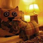 ตุ๊กตาประดับเตียง