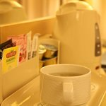 In room tea and coffee
