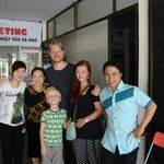 The Anh Linh family and us